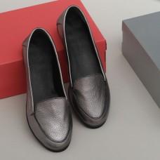 Женские туфли 1140сереброф