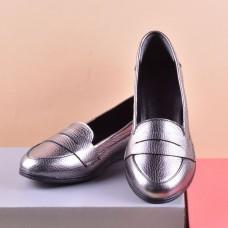 Женские туфли 1144сереброф