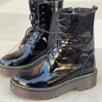 Женские ботинки 3055лак